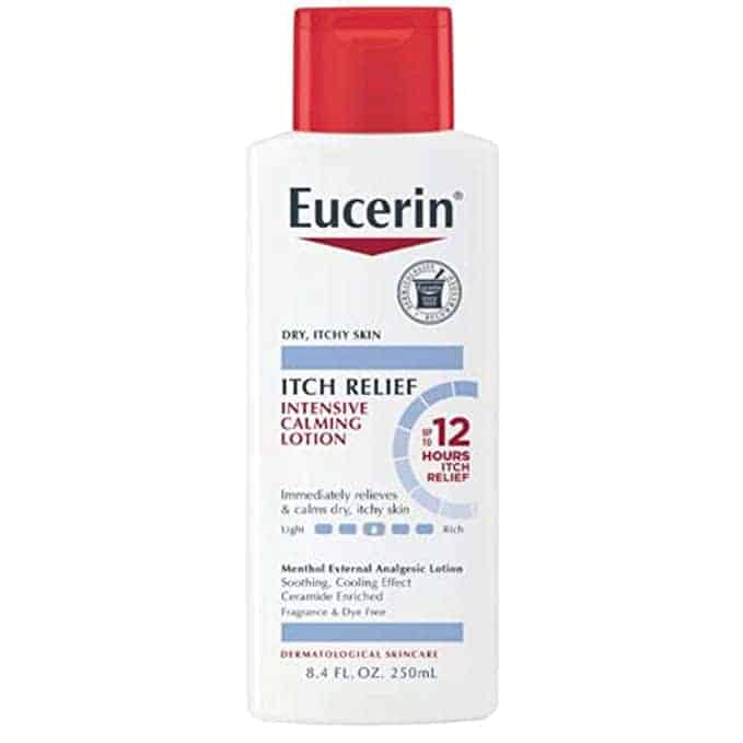 Eucerin diabetic lotion for itchy skin