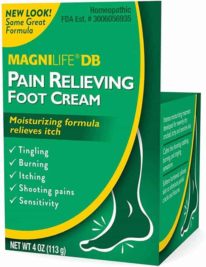 Magnilife BD Diabetic foot cream for burning feet