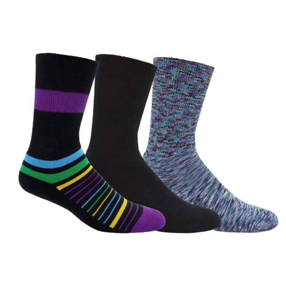 Dr Segal colourful diabetic socks