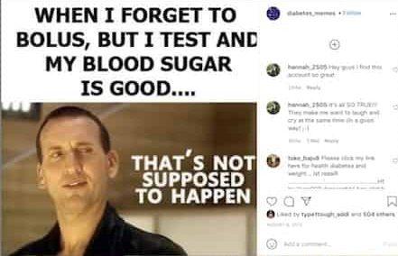Diabetes memes laugh