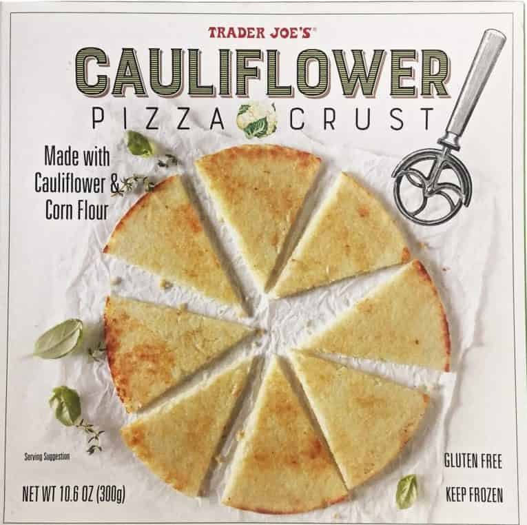 Trader Joe Cauliflower pizza crust
