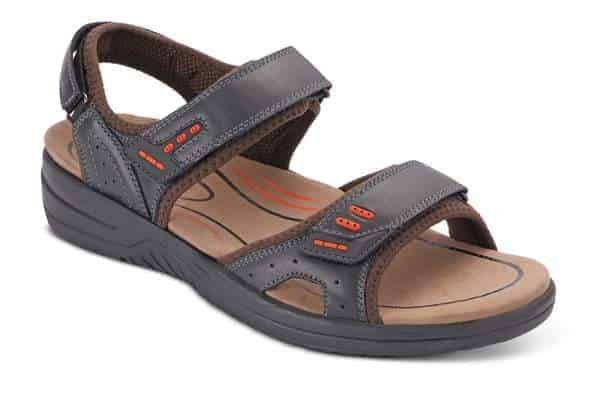 Orthofeet sandals for diabetes and neuropathy men