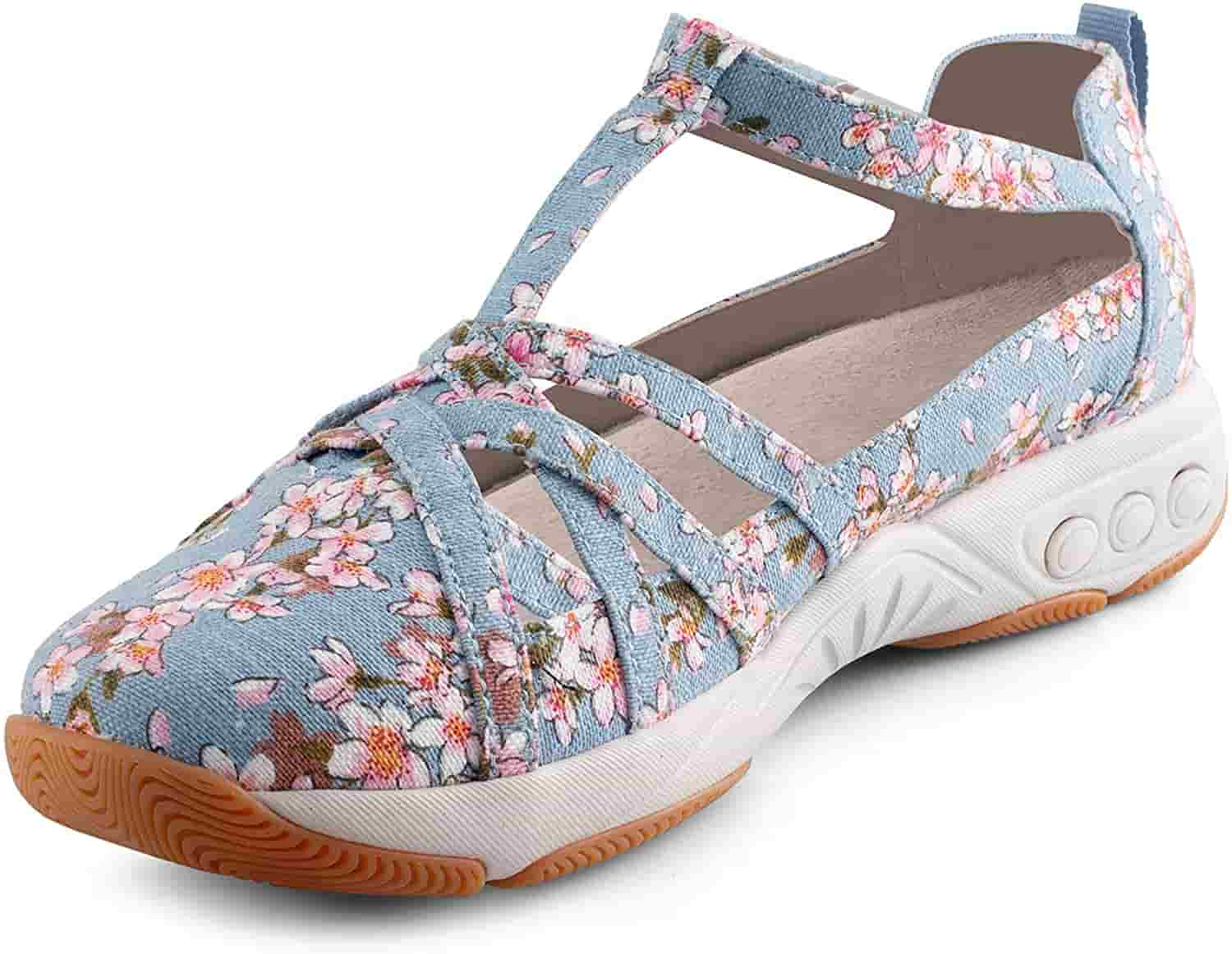 Therafit orthopaedic sandals for women floral