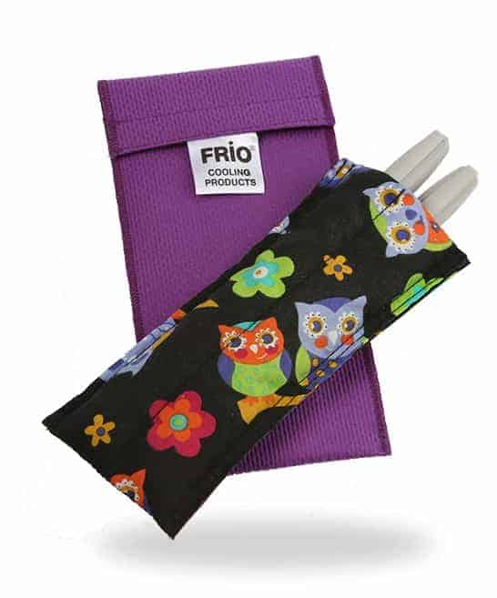 Frio insulin cooling wallet for diabetic kids Owls