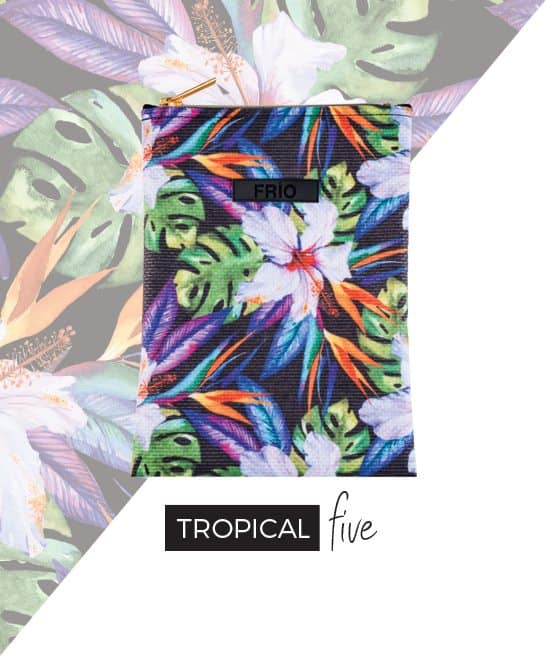 Frio Tropical Five Large insulin wallet-min