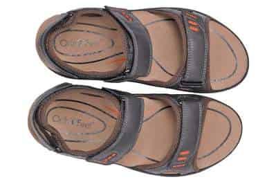 Orthofeet sandals for diabetic men