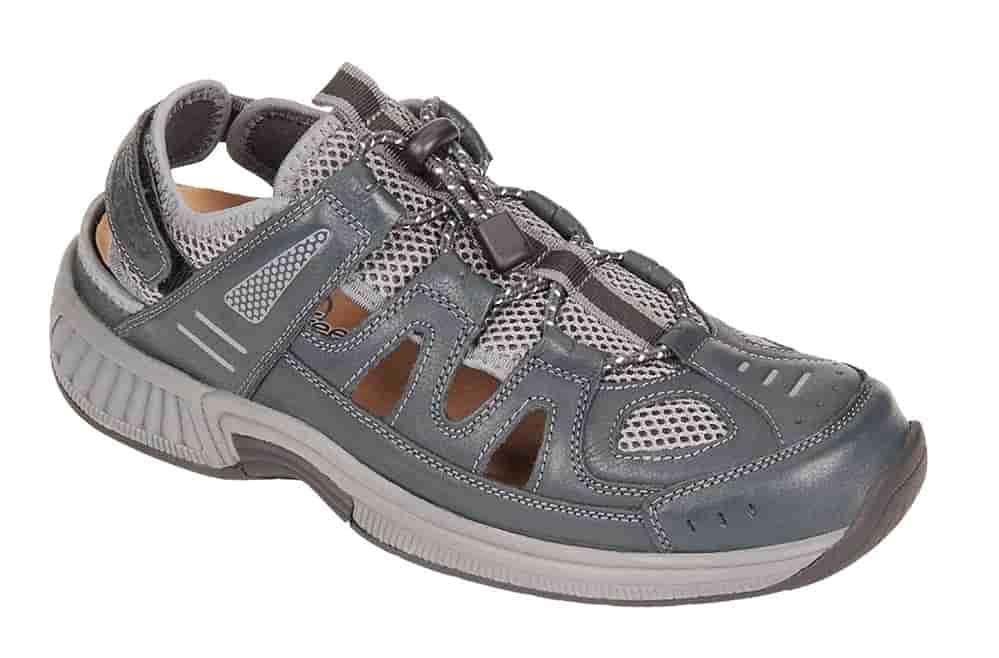 Orthofeet alpine sandals for men diabetes neuropathy