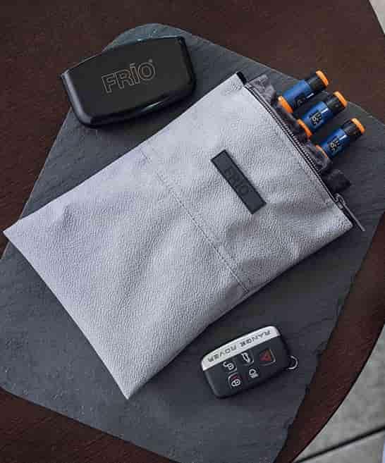 Frio Slate 5 cooling wallet for diabetics