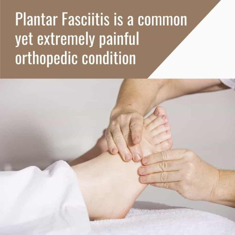 Plantar fasciitis is common yet very painful