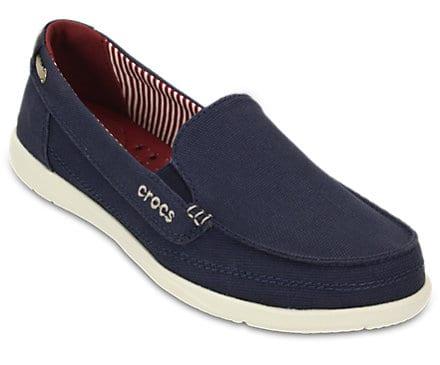 Walu loafers womens crocs blue navy