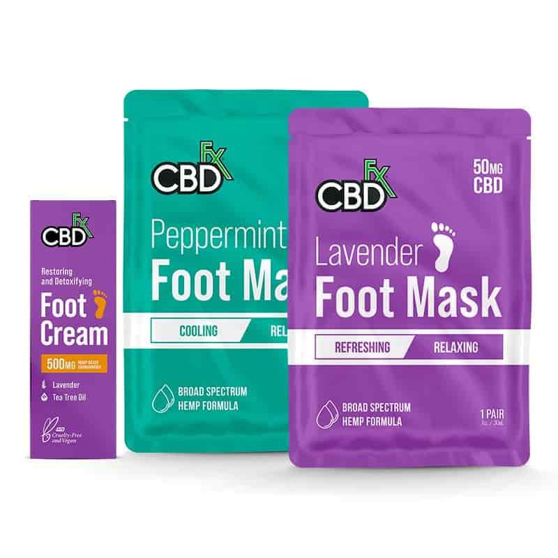 CBDFX Foot Care essential oils set