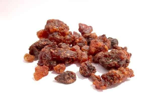Myrrh essential oil works great against neuropathy