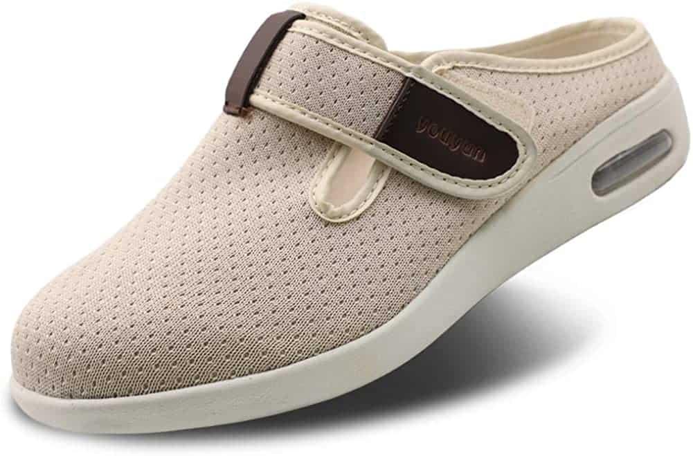 Secrete slippers for diabetic women with neuropathy