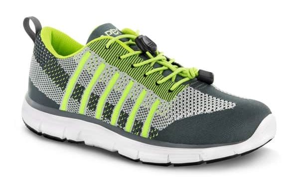 Apex Men's Bolt Athletic Sneakers for Diabetes and Neuropathy