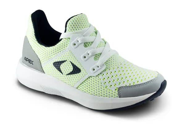 Apex performance athletic sneakers for women with diabetes