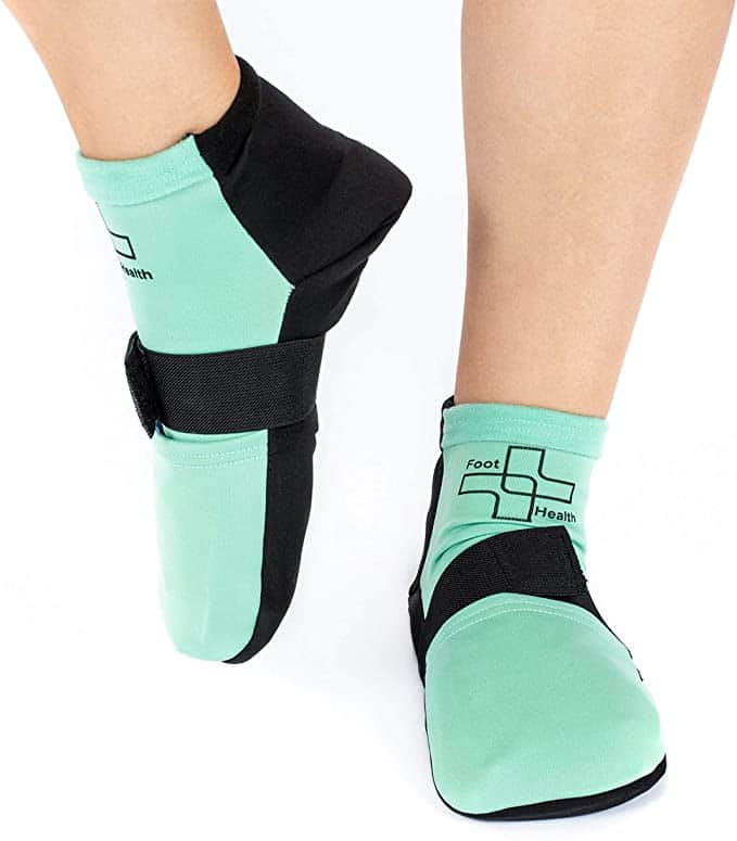 Foot Health cold socks with compression straps