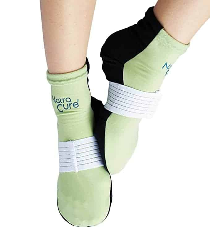 Natracure cold therapy socks for plantar faciitis