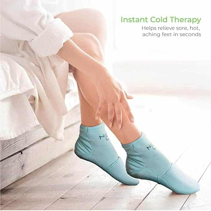 Natracure ice slippers for neuropathy