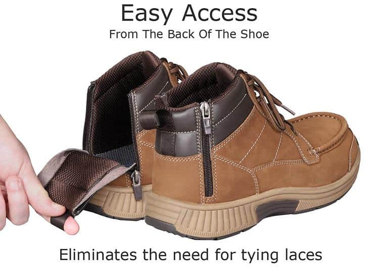 Orthofeet Diabetic boots for hiking