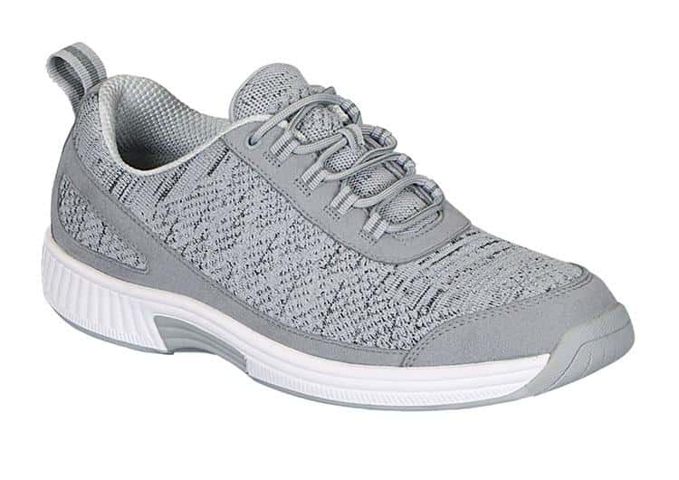 Orthofeet Lava Stretch Knit sneakers for men diabetes