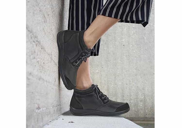 Orthofeet Milano Diabeyic Boots black