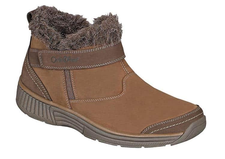 Orthofeet Siena winter diabetics boots