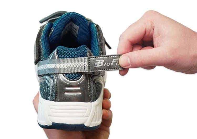 Orthofeet Sprint sneakers for diabetic men heel strap
