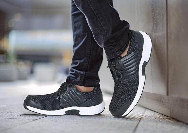 Orthofeet Tacoma stretchable orthopedic shoes for men
