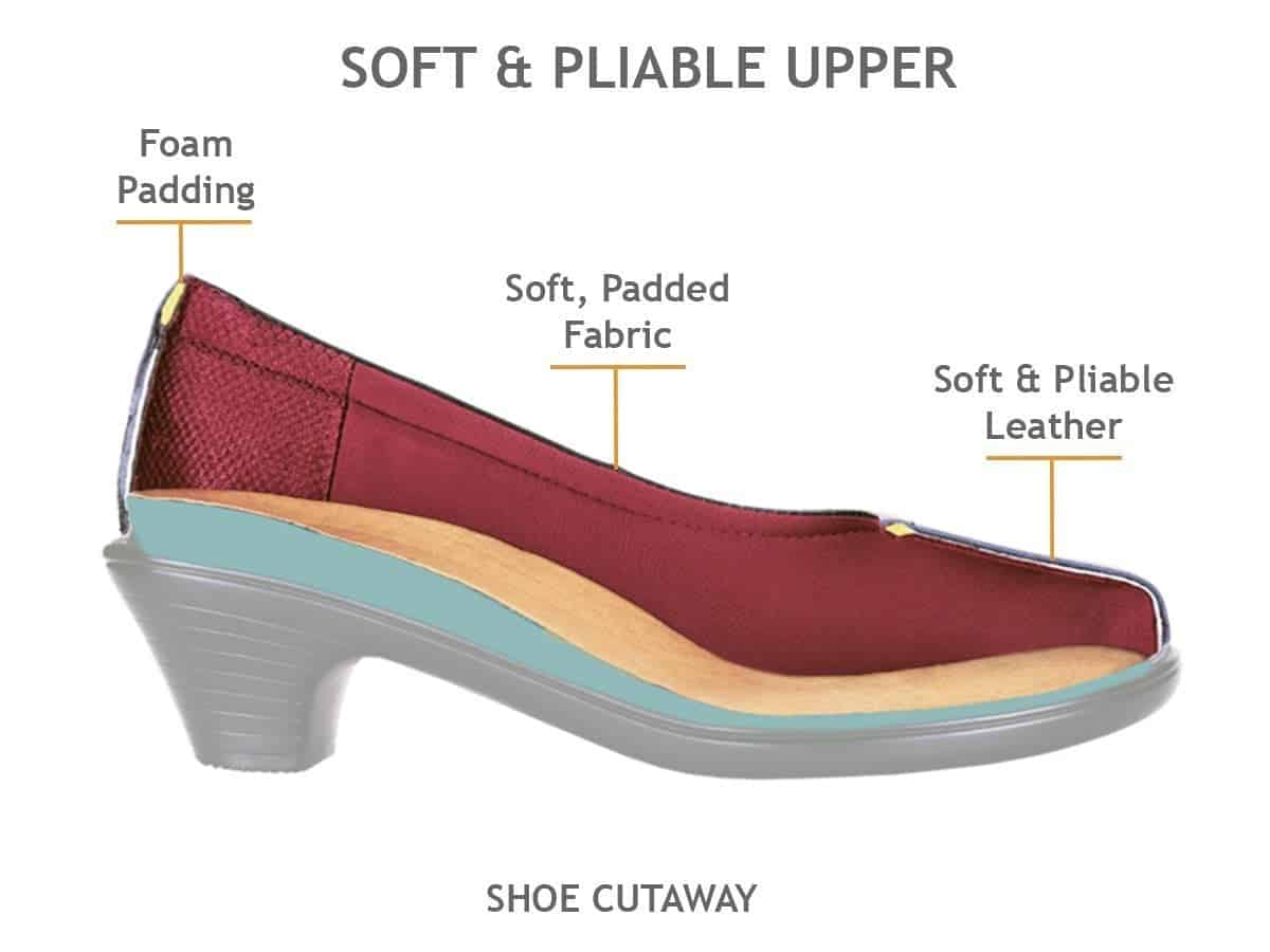 Orthofeet dress shoes for neuropathy