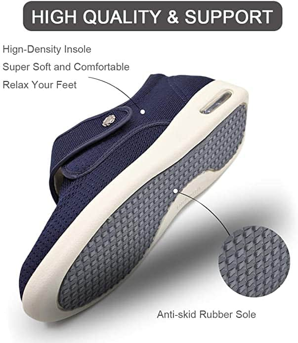 Orthoshoes sneakers for neuropathy