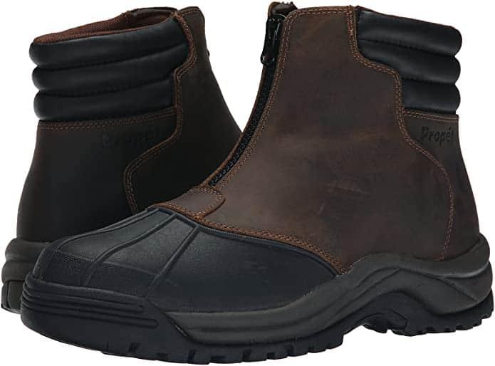 Propét diabetic snow boots for men