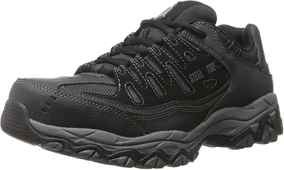 Skechers steel toe diabetic sneakers
