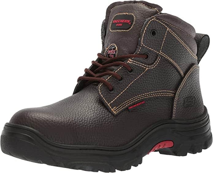 Skechers diabetic steel toe safety boots