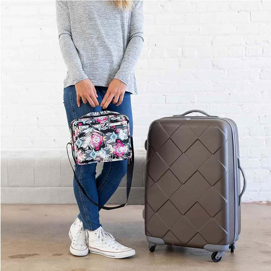 SugarMedical Diabetic Travel Bag Flower