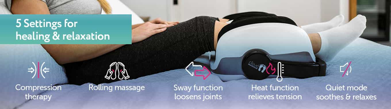 Cloud massage foot therapy for neuropathy and diabetics