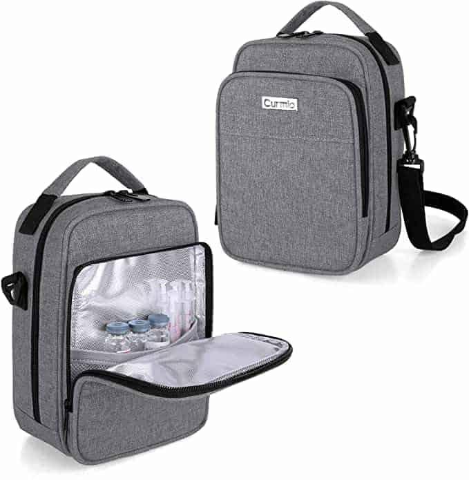 Curmio Insulated diabetic bag for supplies