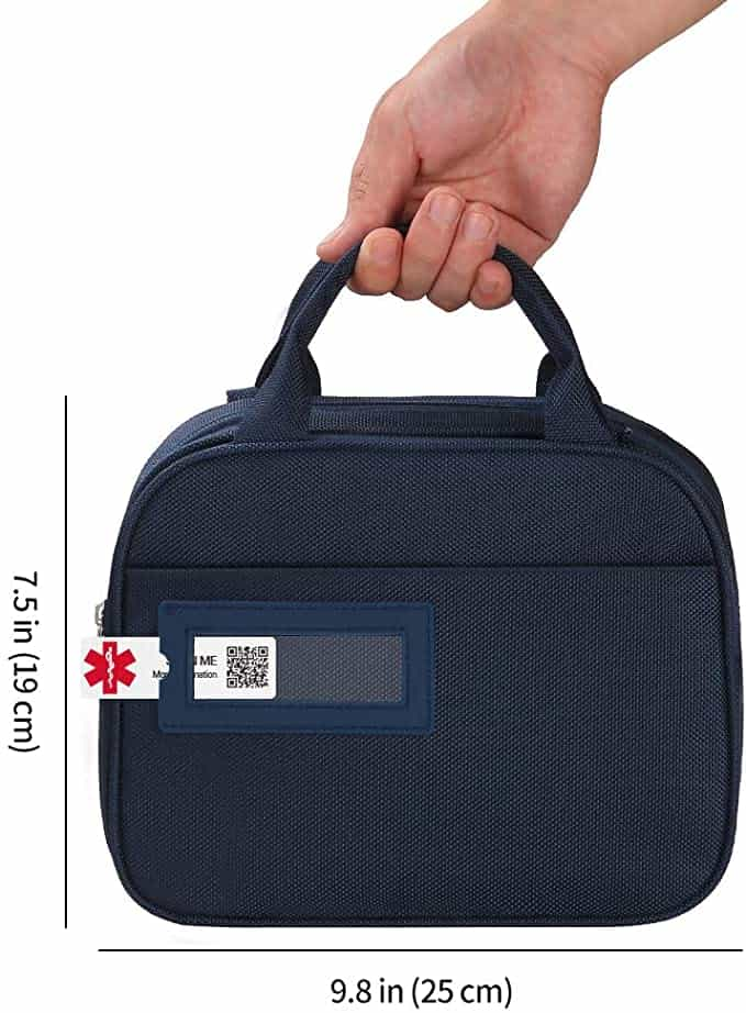 DisonCare Diabetes Bag with Medical Alert