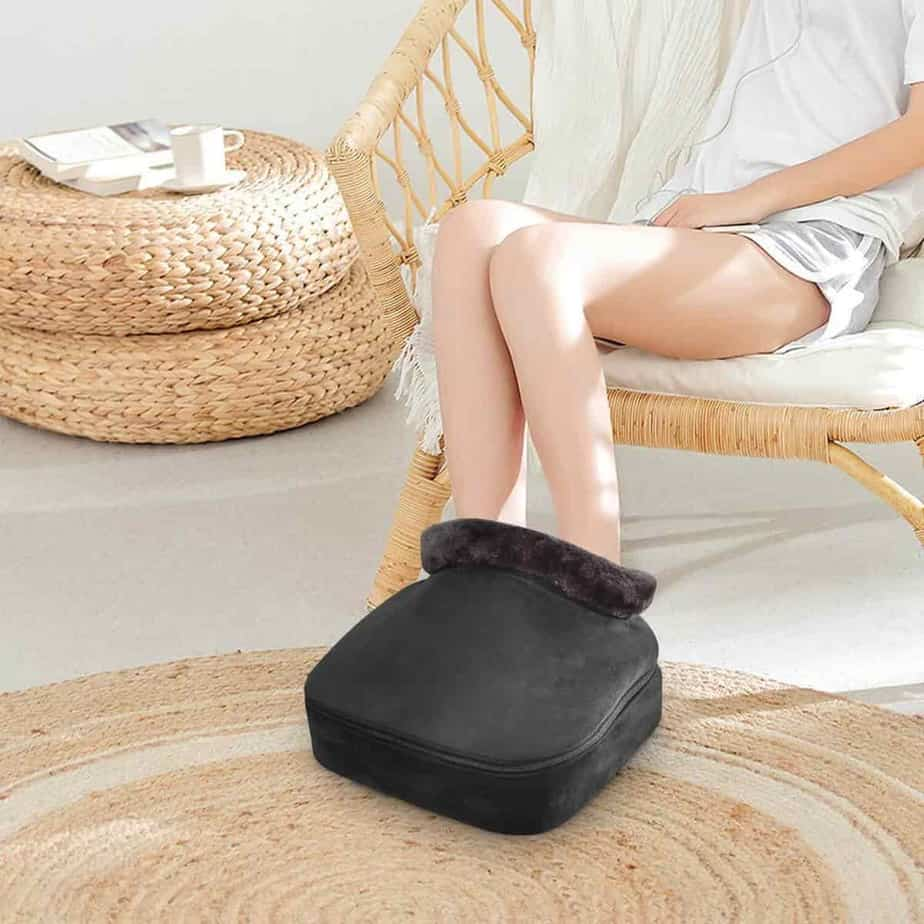 Snailax foot massager for neuropathy with heat