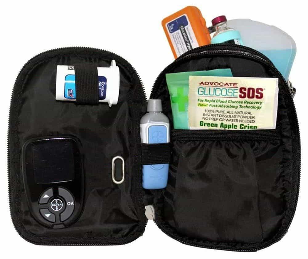Sugar Medical diabetic purse organizer-min
