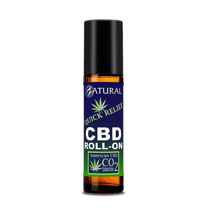 Zatural CBD quick relief roll on great for nerve pain