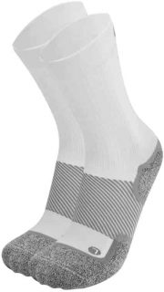 Orthosleeve socks for diabetes crew white
